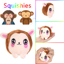 Kawaii Squishy Cute Animal Funny Monkey Scented Squishies Slow Rising Kids Toys Doll Stress Relief Toy Hop Props Squeeze Toys(China)