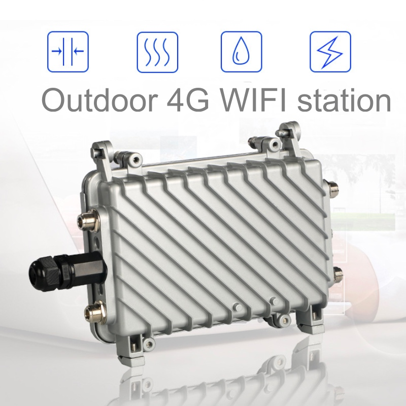 LTE Wireless AP Wifi Router 4G CPE Lte Wireless Industrial  Outdoor 4g Router  4G SIM Card WiFi Router IP66 Waterproof 2.4G