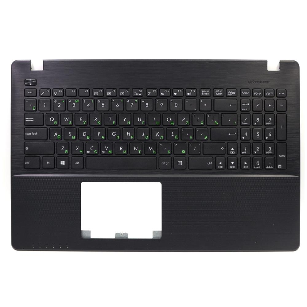 New Russian Black Laptop Keyboard For ASUS X550 X550C X550CA With Black Cover C Black Palmrest Keyboard