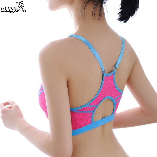 f9fbec6f9f073 Women Sexy Bra 2017 New Hot Lady Sports Bras Seamless Breathable Push Up  Bras Leisure Promotions High Quality A