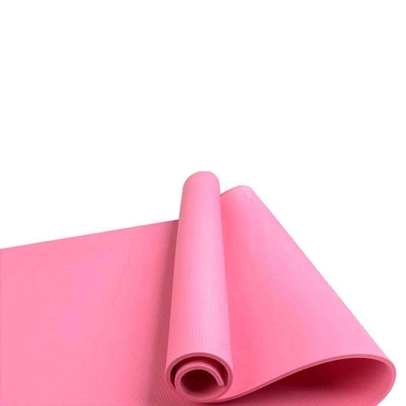 Gym Fitness Exercise Pad Thick Non-slip Folding EVA Pilates Supplies Non-skid Floor Yoga Mat 4 Colors soumit 5 colors professional yoga socks insoles ballet non slip five finger toe sport pilates massaging socks insole for women