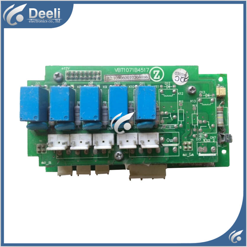 95% new Original for air conditioning computer board VBT1071B4517 board good working 95% new for haier refrigerator computer board circuit board bcd 198k 0064000619 driver board good working
