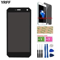 LCD Display Touch Screen Glass Digitizer Assembly Repair Sensor For Nomu S10 LCD Display Free Tools