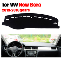 Car Dashboard Covers Mat For VOLKSWAGEN VW New Bora 2013 2016 Left Hand Drive Dashmat Pad