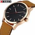 Curren Men's Sports Quartz Watches Men Watches Top Brand Luxury Analog Leather Wristwatches Waterproof Relogio Masculino 8214