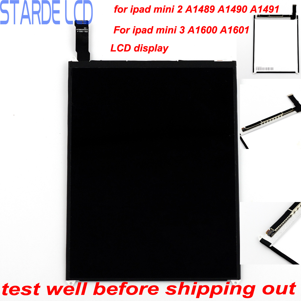 Replacement 7 9 LCD for ipad Mini 2 A1489 A1490 A1491 Mini 3 A1599 A1600 A1601