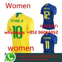 15df7c059e3 2018 2019 Brazil home away shirt 18 19 camisetas shirt survetement World  Cup Women shirt(