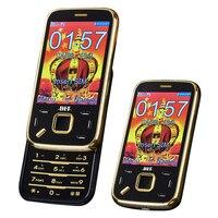 BLT N95 Slider Senior Mobile Phone Vibration Touch Screen Magic Voice Cellphone Dual SIM Cards MP3
