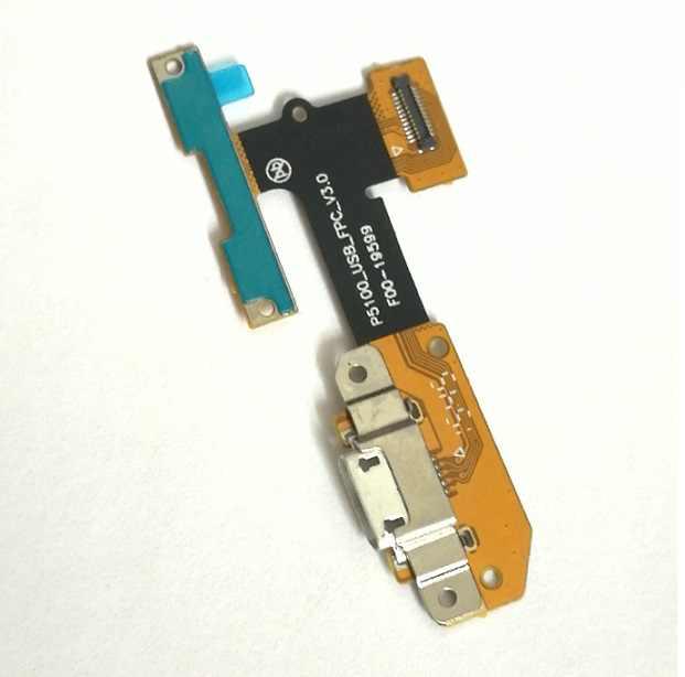 USB ficha de carregamento porta flex cabo conector da placa Para Guia Lenovo YOGA 3 YT3-X50L yt3-x50 yt3-x50f yt3-x50m p5100_usb_fpc_v3.0
