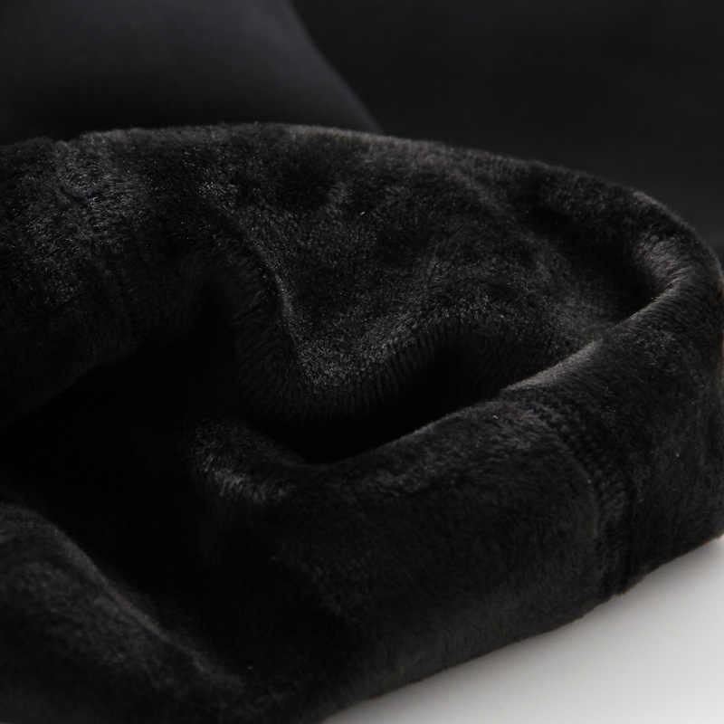 COOTELILI Leggings d'hiver chauds pour filles épais chaud taille élastique coton Leggings fille pantalon pantalons enfants pantalons 3-15 ans