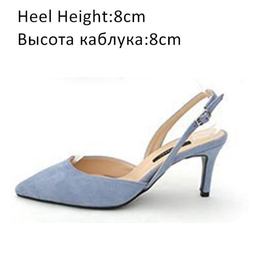 Blue Shoes 8cm