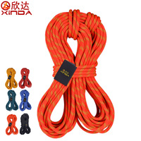 XINDA Professional Durable 10mm 24KN 5 10 Meter Static Rope Climbing Cord Professional Survival Rope