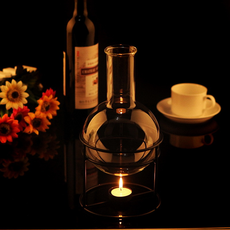 European Style Gl Coffee Pod With Tealight Warmer Tea Pot Glware Set On Aliexpress Alibaba Group