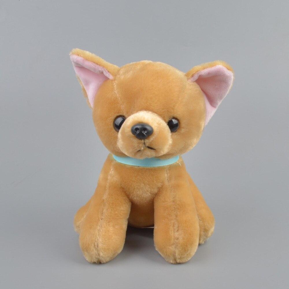 20 см сидя цвет хаки маленький щенок плюшевые куклы, детские дети милые игрушка в подарок Бесплатная доставка