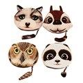 3D Coin purse rabbit Owl purse wallets animals children wallet kids change purse head pouch small wallet for coins kawaii bag