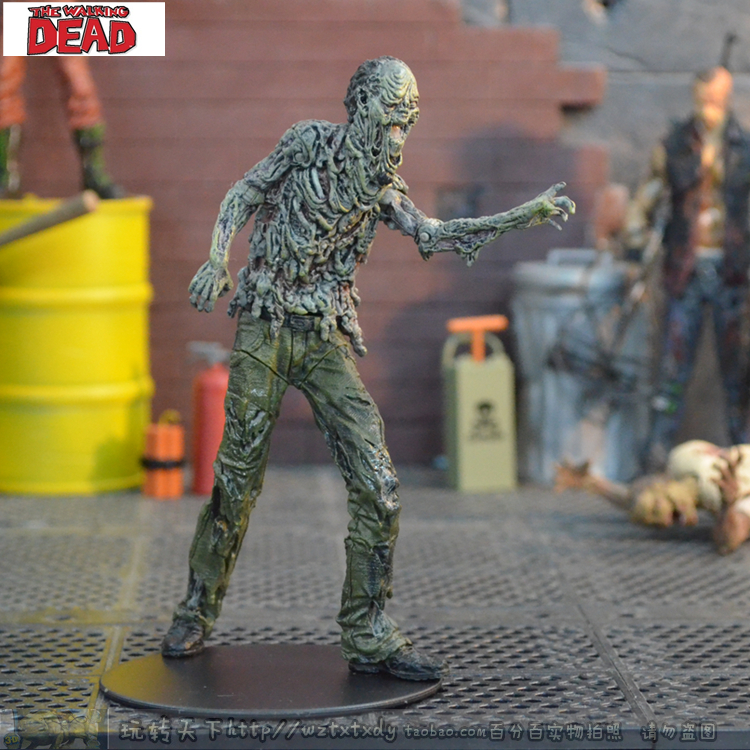 the walking dead A Dead-Alive Person 5 Inch Water Zombie Ninth Generation Set Model the ninth step