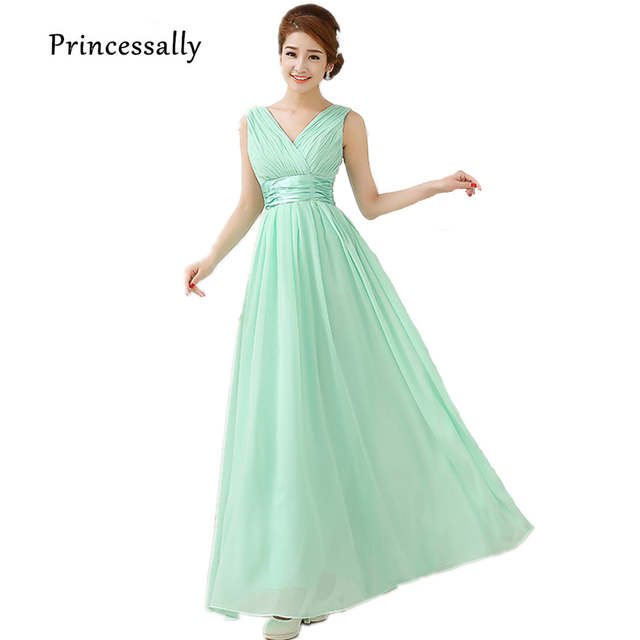 2f30c93a9b placeholder Mint Green Bridesmaid Dresses Chiffon To Party Long Formal  Dresses Lilac Champagne Prom Dresses Under  50
