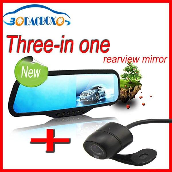 Hot sale car dvr hd, reverse sensor, dash cam 1080p full hd night vision, g-sensor, bluetooth rear view mirror