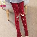Детская одежда девочек, 2017 осень ребенок осенние брюки ребенок шаг леггинсы весной и осенью брюки