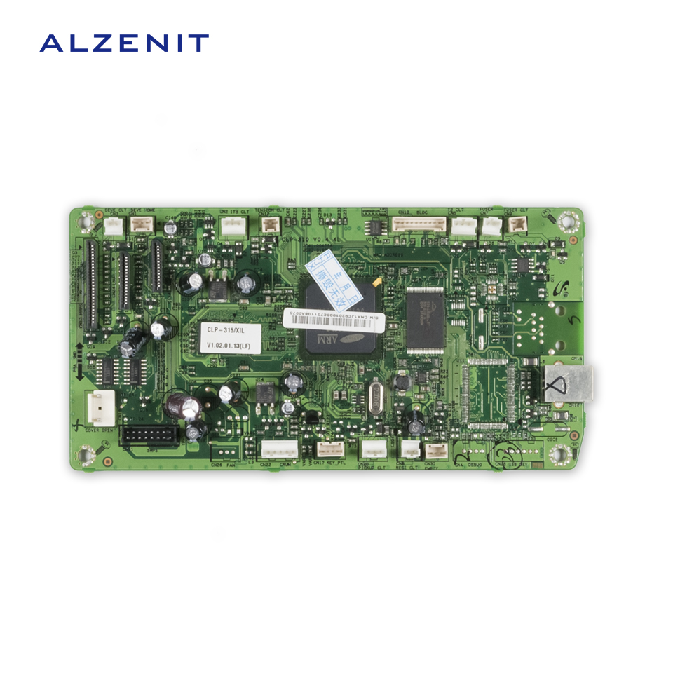 ALZENIT For Samsung CLP-315 CLP315 CLP 315 Original Used Formatter Board Printer Parts On Sale brand new inkjet printer spare parts konica 512 head board carriage board for sale