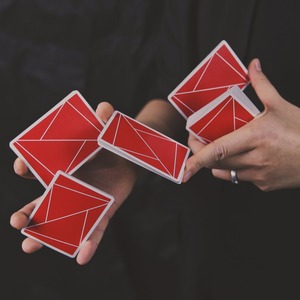 1 Deck Flexible Cardistry Playing Cards Cardistry Fans Deck Magic Trick Props Magic Cards Poker(China)