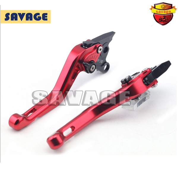ФОТО For DUCATI STREETFIGHTER 848 STREETFIGHTER/S Red Motorcycle Accessories CNC Aluminum Short Brake Clutch Levers