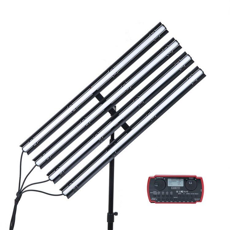 CAME-TV Boltzen Andromeda Tube mince RGB LED lumière vidéo 4 lumières Kit 3FT (3FT-D4/3FT-B4/3FT-R4)