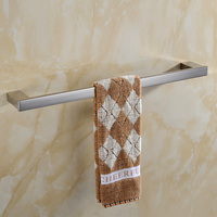 AUSWIND Contemporary European 304 Stainless Steel Modern Bathroom Towel Racks Towel Bar Single Bar
