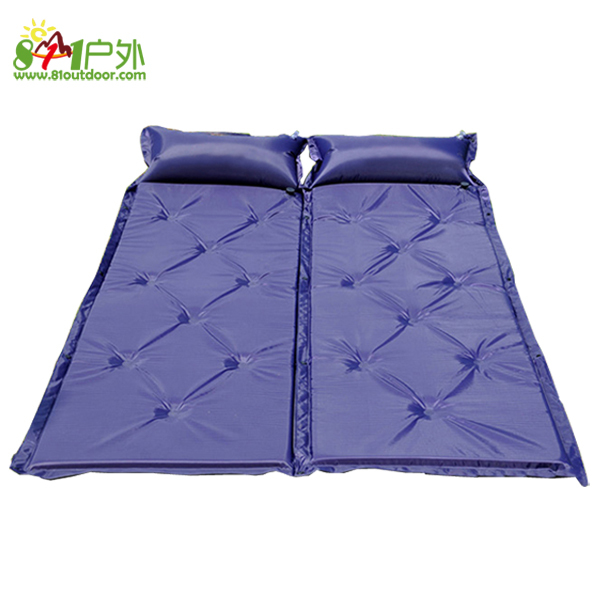 Automatic 9 inflatable cushion outdoor camping mat sleeping pad singleplayer patchwork tent moisture-proof pad