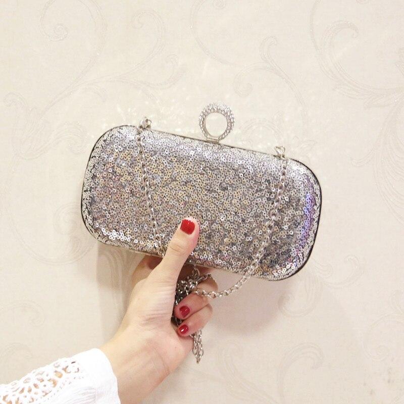 ff00e1b857c ETAILL Glitter Sparkling Vrouwen Clutch Tassen Pailletten Kralen Ketting  Mini Handtassen Bridal Purse Luxe Party Avondtasje Groothandel in ETAILL  Glitter ...