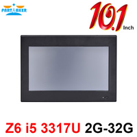 Z6 10.1 Inch Made In China 4 Wire Resistive all in one pc touch Intel Core i5 3317U All In One Pc 2G RAM 32G SSD