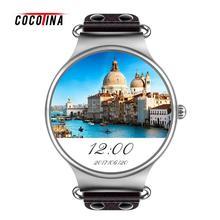 COCOTINA KW98 Reloj Inteligente Sim Android Reloj 8 GB Sports Tracker GPS Del Ritmo Cardíaco Wifi 3G Reloj Teléfono Inteligente ZNB9246