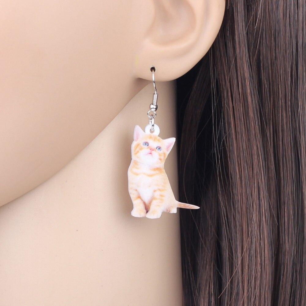 Kitten Earrings 3