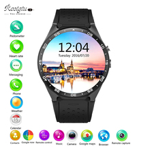 REOTGTU Kw88 android 5.1 OS Smart watch electronics android 1.39 inch mtk6580 SmartWatch phone support 3G wifi nano SIM WCDMA