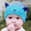 Chapéu do bebê beanie crianças da foto do bebê props, adorável padrão animal do crânio elástico urso bebes hat gorros cap para 0-3 anos de idade, afl