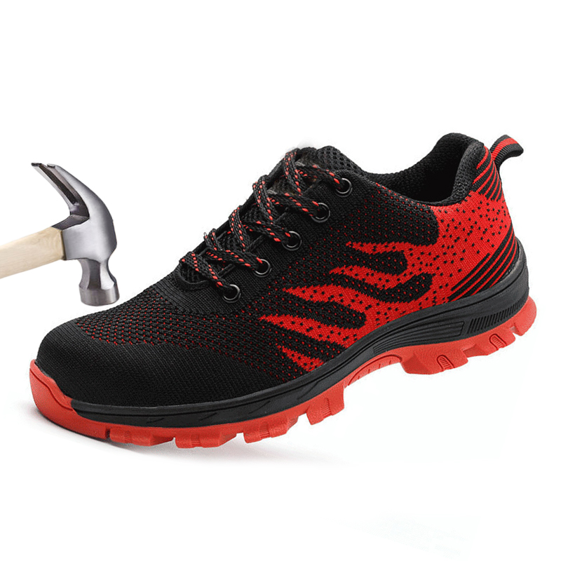 Men Safety Shoes Woman Ultra Steel Toe Work Boots Anti-smashing Puncture Proof Safty Shoe Working Sneakers Casual Breathable