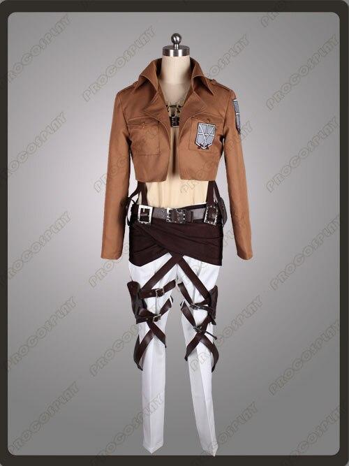 Attack on Titan Shingeki no Kyojin Eren Jaeger Cosplay Costume mp002422