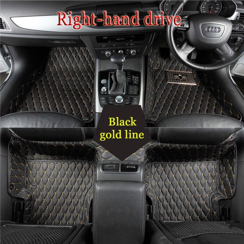 Custom Fit Car Floor Mats For Cadillac ATS CTS XTS SRX SLS Escalade 3D Car Styling