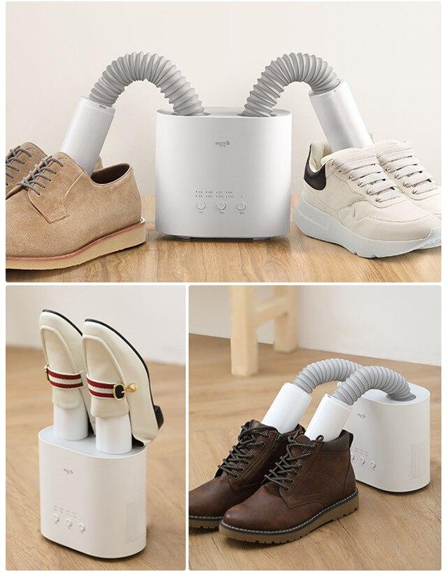 Original XIAOMI MIjia Deerma HX10 Intelligent multi-fonction rétractable sèche-chaussures multi-effet stérilisation u-forme Air Out - 6