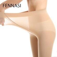 5496e334d FENNASI Alta Elasticidade Nylons Meia-calça Transparente Sexy Mulheres  Seamless Sexy Lady Calças Justas Erótico Feminino Calças .