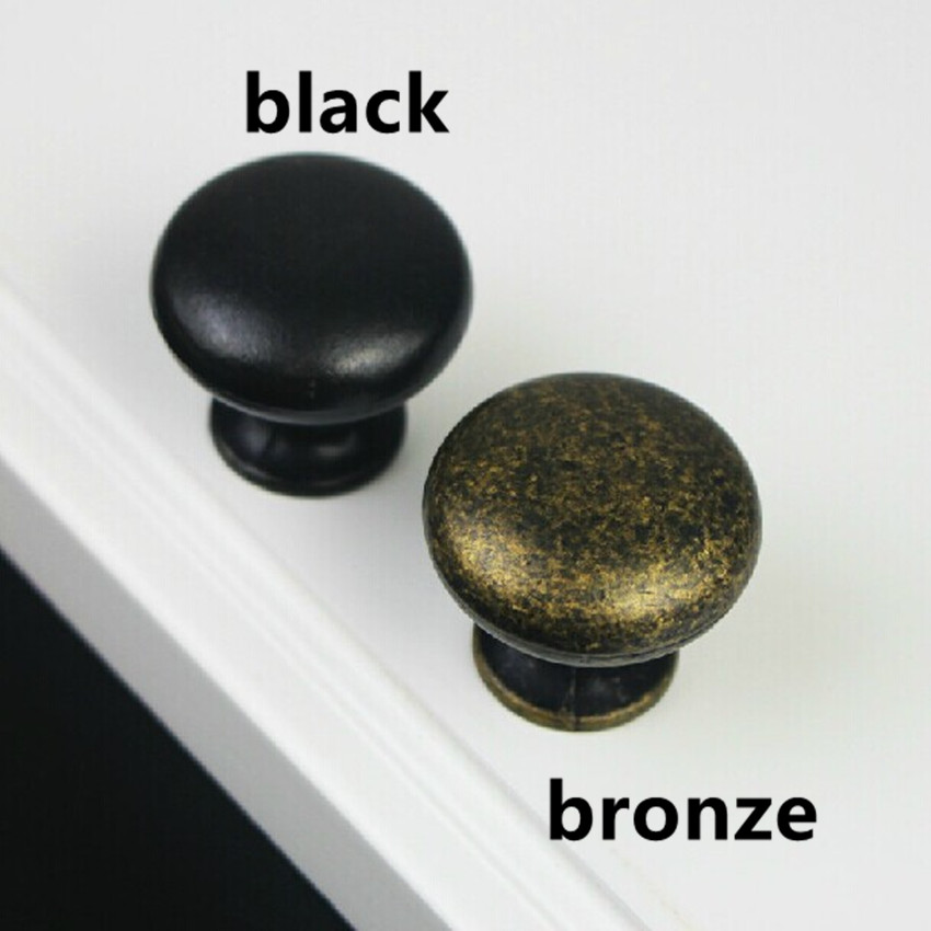 rustico vintage furniture knobs bronze dresser handles knobs black drawer cabinet knobs pulls handles retro knobs antique black