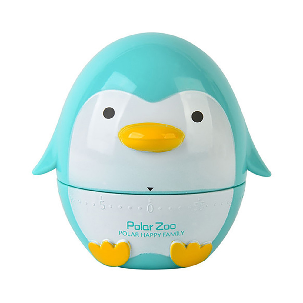 Penguin Timer Kitchen 60 Minute Cooking Mechanical Home Decoration ...