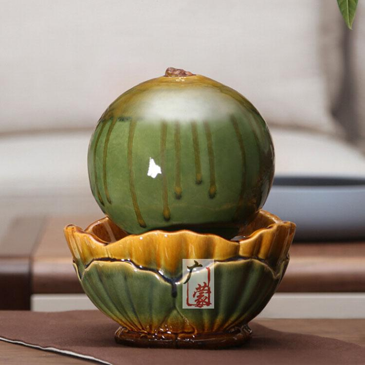 Fashion creative ceramic small fountain water bonsai decoration indoor  decoration Feng Shui bedroom furnishings Home FurnishingOnline Get Cheap Indoor Water Fountain Decor  Aliexpress com  . Indoor Bedroom Water Fountain. Home Design Ideas