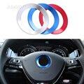 Steering wheel Soft Enamel emblem For VW Volkswagen golf 6 golf 7 POLO CC Tiguan PASSAT B7 TOURAN Scirocco BEETLE 2011-2016