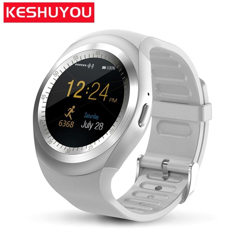 KESHUYOU T11 reloj Intelligent Smart watch fashion clock sim tracker kids bluetooth pedometer Smartwatch for iphone Samsung