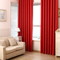 1pc Blackout Curtains Solid Color all Shade Cloth Insulation Livingroom Curtains for Bedroom Window Kitchen Blinds free shipping