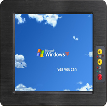 Operate Temperature -40 to 80 degree 15 Inch industrial Panel PC Touch screen all in one computer