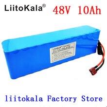 LiitoKala 48 فولت 10ah 13s3p عالية الطاقة 18650 بطارية مركبة كهربية دراجة نارية كهربائية لتقوم بها بنفسك حماية BMS البطارية