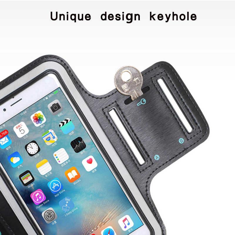 Fascia da braccio Per Huawei P di Smart/Godere 7 S Corsa e Jogging Da Jogging di Sport Supporto Del Telefono Delle Cellule di fascia di Braccio Per Huawei P smart + a Portata di mano