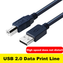 Print Cable USB 2.0 Type A to B Male to Male Printer Cable 1m/1.8m /3m /5m For Camera Epson HP Printer цена и фото